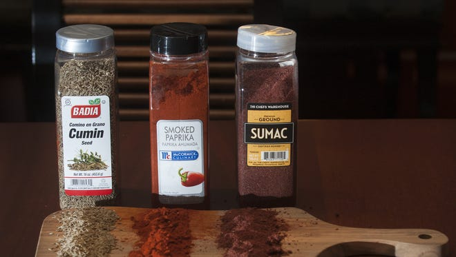 Cumin, smoked paprika and sumac are in the lineup of  winter spices used at Seasons 52 restaurant in Cherry Hill.