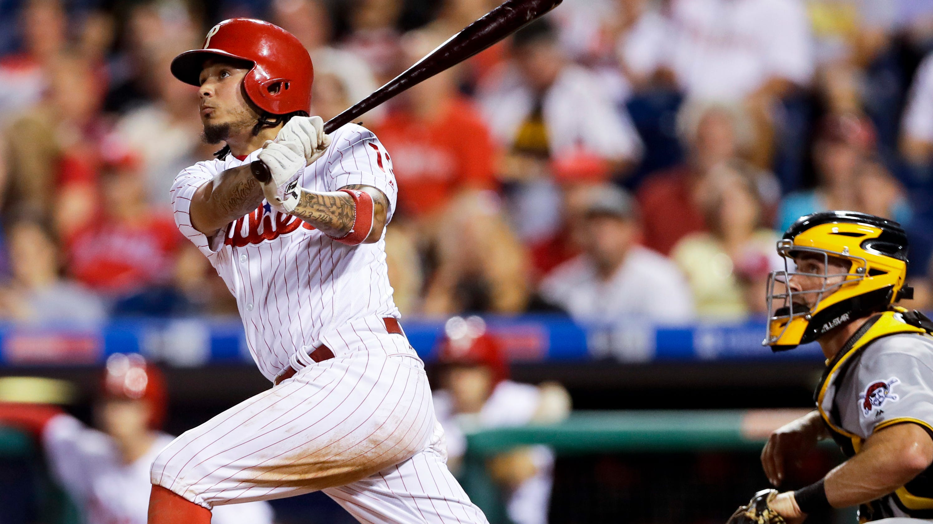 Galvis isn't worrying about losing starting job on Phillies