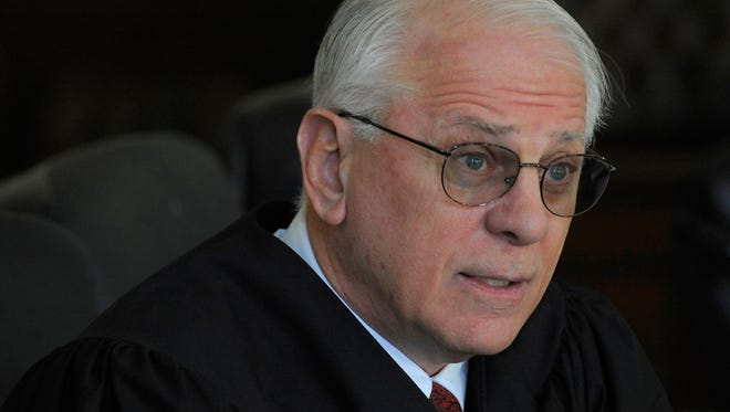 Elmore County Probate Judge John Enslen says he is stopping weddings at the Elmore County Courthouse in Wetumpka, Ala. because he is against same sex marriage on Friday February 6, 2015.