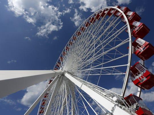 The Branson Ferris Wheel opened in June 2016, part