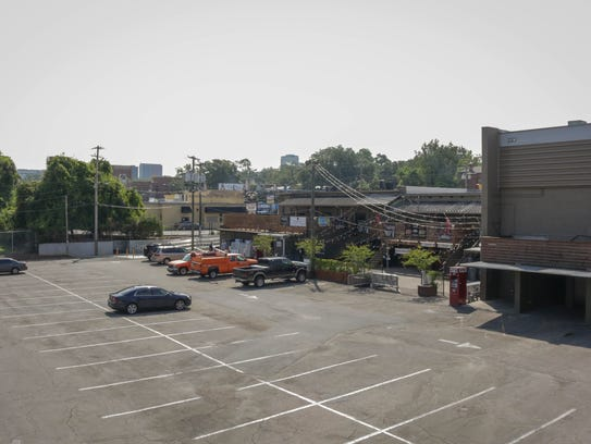 The Strip lot will be transformed for The Big Banger