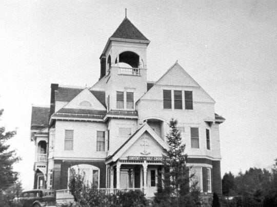 The T.B. Scott Mansion in Merrill when it was used as a convent for the Holy Cross Sisters.