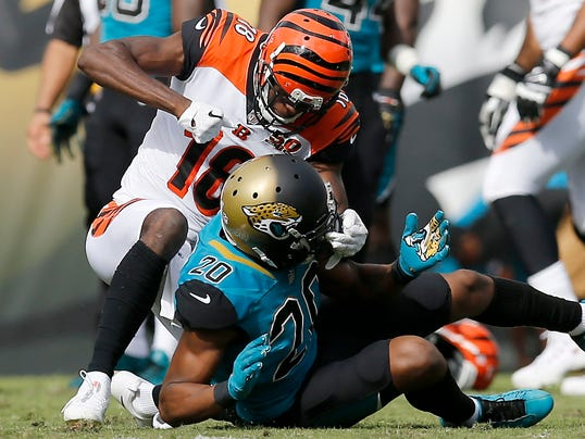NFL: Cincinnati Bengals at Jacksonville Jaguars