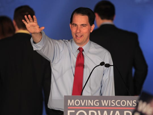 Wisconsin Gov. Walker Holds Recall Election Night Gathering
