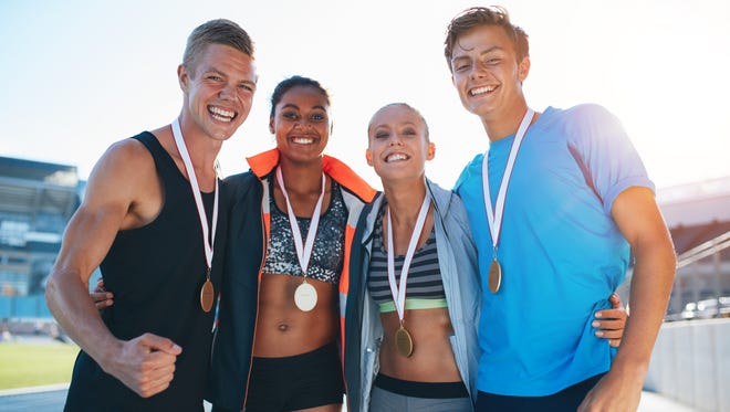Athletes who are extrinsically motivated are driven by recognition, praise, medals and trophies.