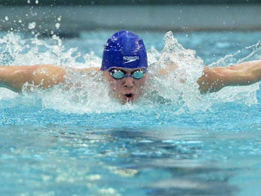 State Swimming Sabres Break Records Finish Fourth