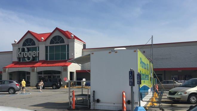 The Richmond Kroger is undergoing a $5.2 million renovation that includes improving the pharmacy. In the meantime, the pharmacy is operating from a trailer in the parking lot.