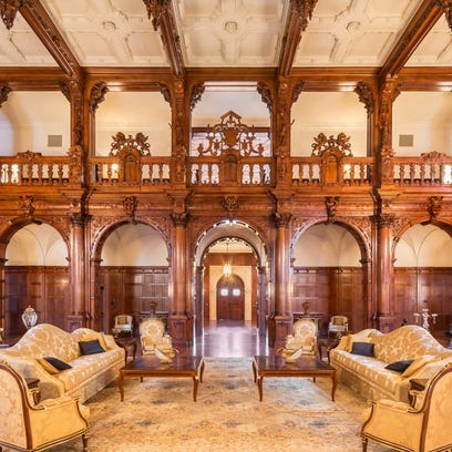The Crocker Mansion in Mahwah, New Jersey, a 55,000