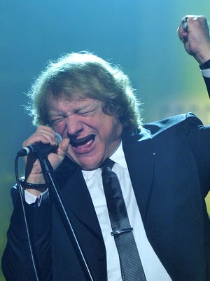 Lou Gramm of Foreigner performs at the Songwriters Hall of Fame 44th Annual Induction and Awards Dinner at the New York Marriott Marquis in 2013 in New York City.