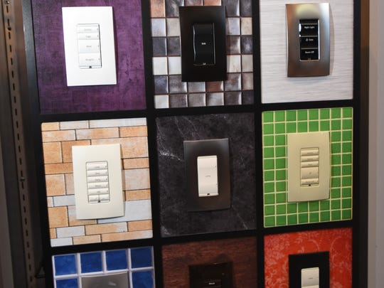 Many types of wall switches are available now to control everything in a room.