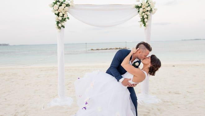 "Local ""MasterChef"" finalist Derrick Fox, formerly Derrick Peltz, took his wife Kimberly's last name following their Feb. 18 wedding in the Bahamas."