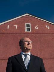 Camden County Historical Society President Chris Perks