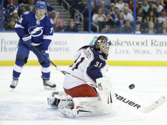 Blue Jackets Lightning Hockey