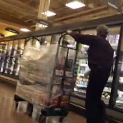 Supermarkets across Texas removed Blue Bell products from freezers on April 20, 2015.