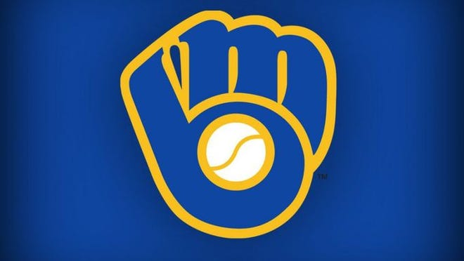 The laces on the Brewers' logo form an M that combines with the B made by the pocket and webbing.