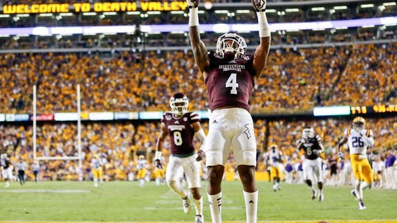 Mississippi State wide receiver Jameon Lewis will miss today's game against Texas A&M with a right leg injury.