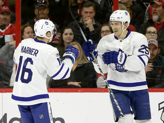 James van Riemsdyk, Mitchell Marner
