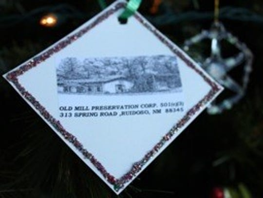 To donate to Old Mill Preservation Corps., call 575-257-2811