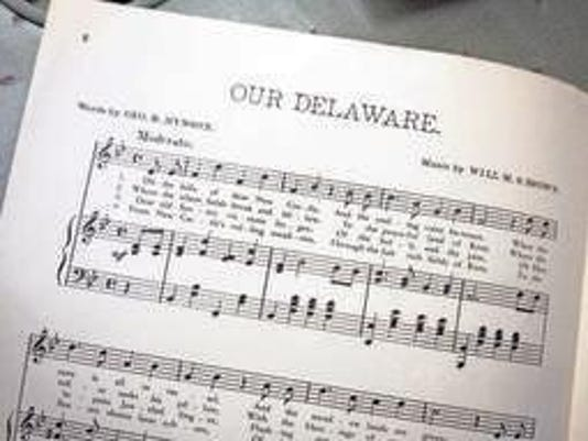 Our delaware sheet music