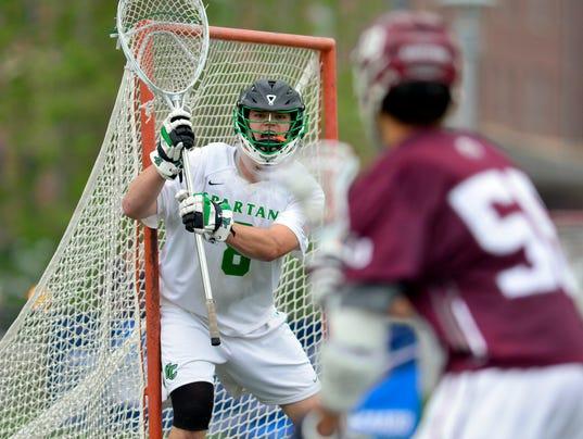 PHOTOS: York College vs Eastern University men's lacrosse