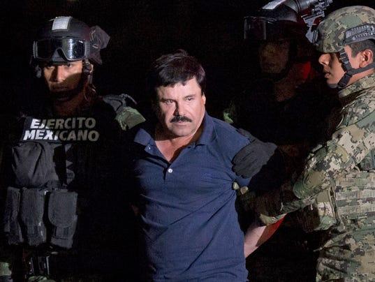 El Chapo Guzman arrested