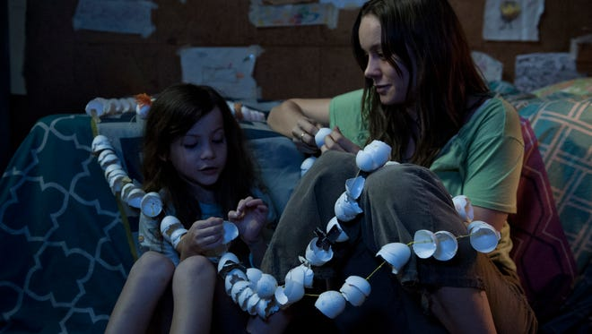 """Jacob Tremblay and Brie Larson star in """"Room."""""""