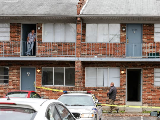 A woman was found murdered at Cumberland Apartments on Egypt Lane in Okolona on Wednesday morning.November 9, 2016