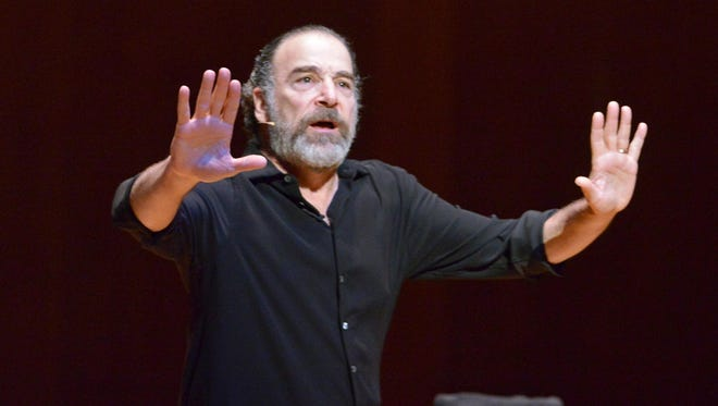 Patinkin, pictured at Foellinger Great Hall in Urbana, Illinois, on March 31, 2012.