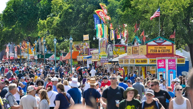 Just about any kind of fair food is available to the masses at the Minnesota State Fair.