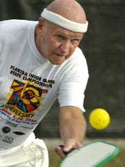 Pickleball will be played Feb. 2-4 at Wa-Ke Hatchee Recreation Center as part of the Lee County Senior Games.