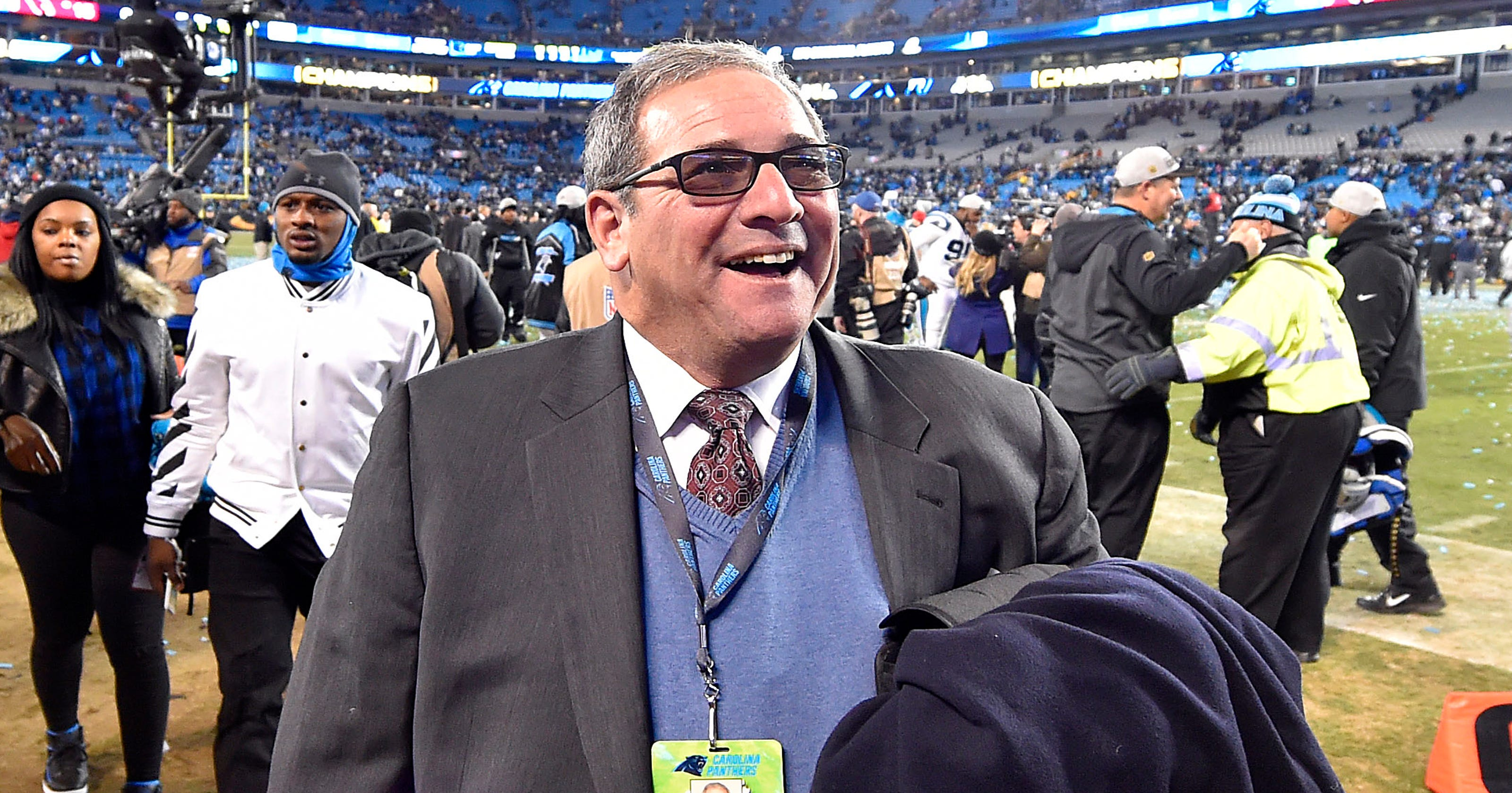 Carolina Panthers fire GM Dave Gettleman  Steve Smith Sr. reacts as only he  can e2e577826