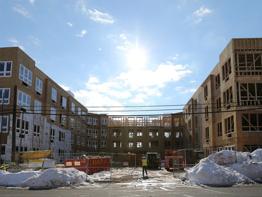 Real estate trends in Central Jersey focusing on the growing number of apartments being built around Central Jersey are photographed on Wednesday January 27, 2016.