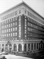 How the International Building looked in the 1920s.