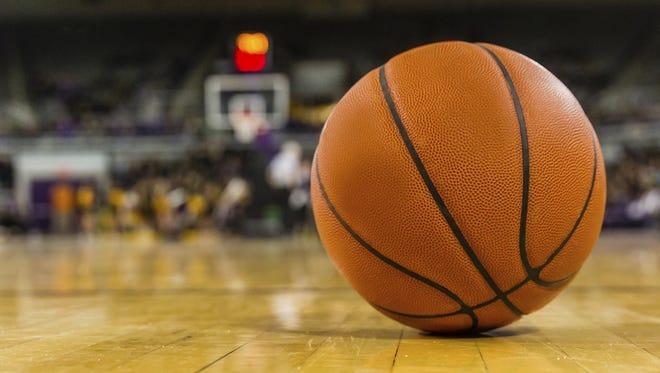High school boys basketball.