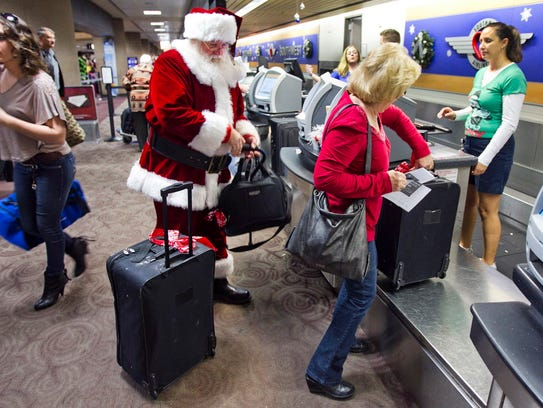 Holiday travelers