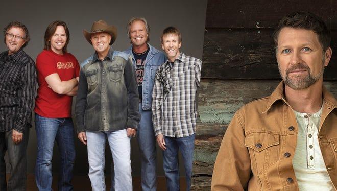 The Sawyer Brown band and Craig Morgan play the Menominee Nation Arena in Oshkosh May 5.