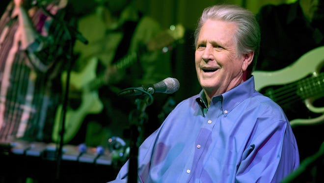 Brian Wilson performs in Los Angeles in 2015. The 73-year-old Beach Boys co-founder visits Appleton Nov. 12.