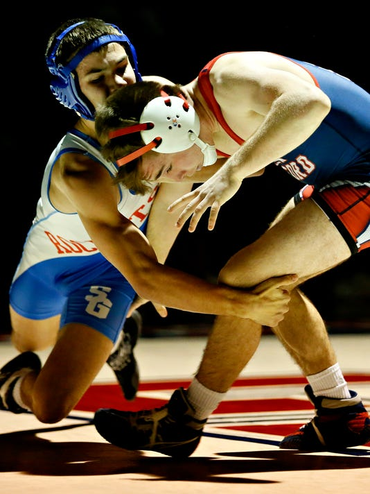 New Oxford vs Spring Grove wrestling