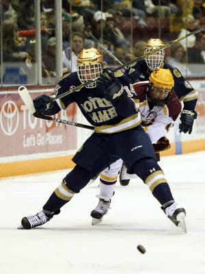 Notre Dame's Thomas DiPauli in a 2014 game.
