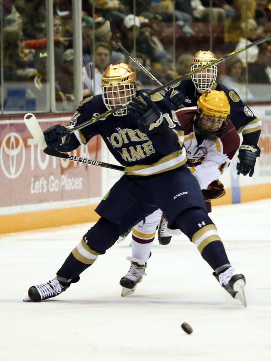 Gophers beat Notre Dame 4-2