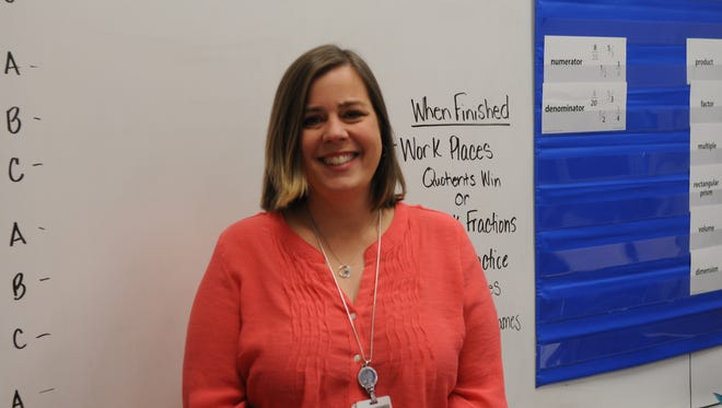 Long Neck Elementary's Christa Ferdig has been nominated for the Presidential Award for Excellence in Mathematics and Science Teaching.