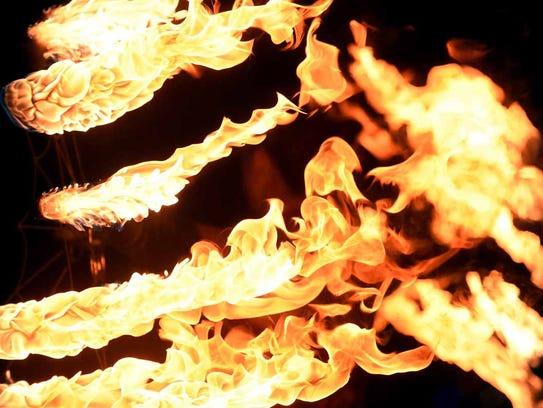 Images of the burn at Burning Man 2015