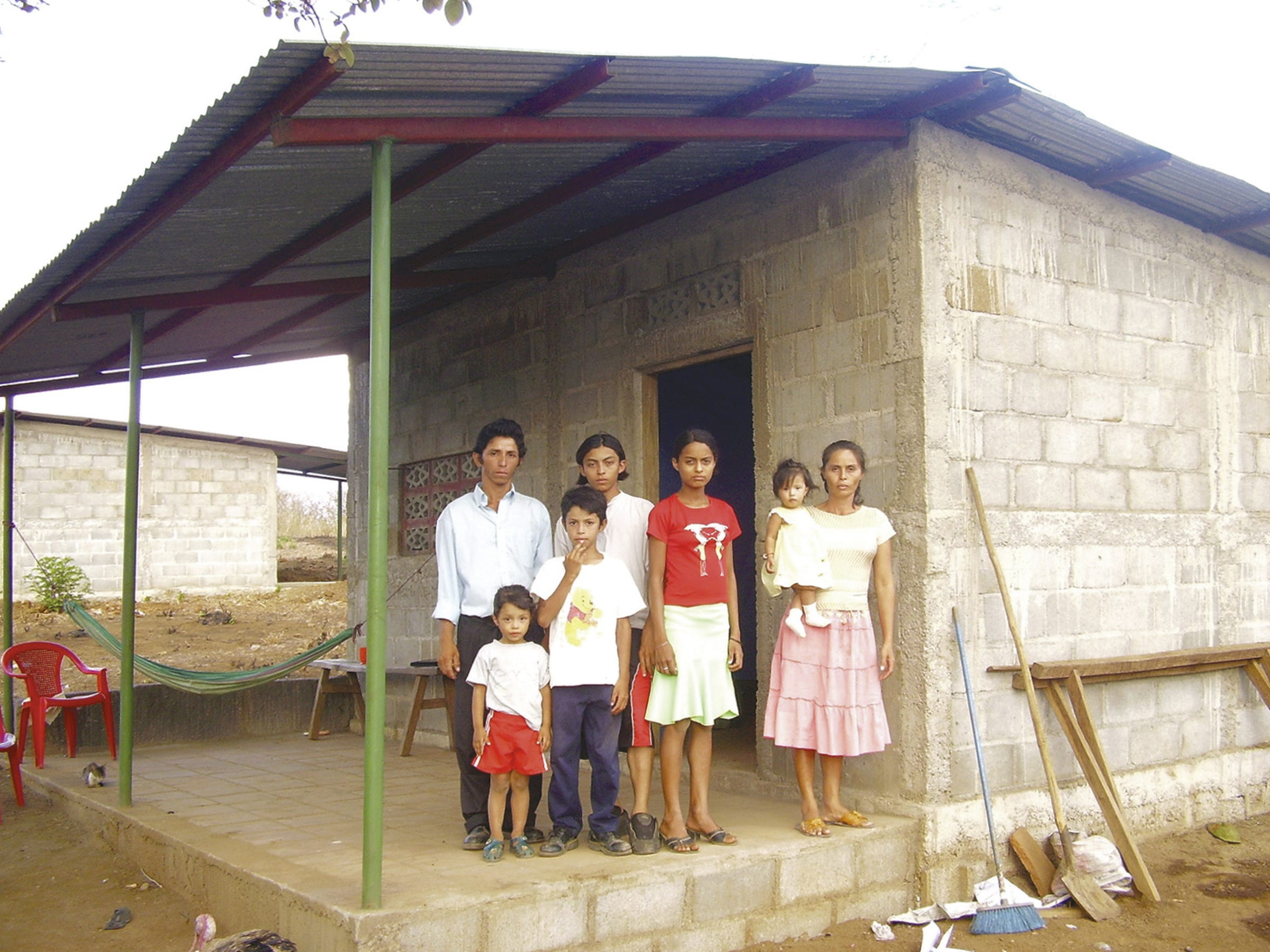 This home was the 500th one built in Nicaragua by the