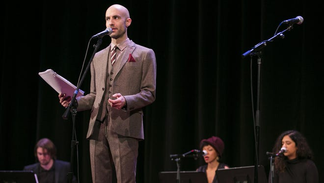"""""""Welcome to Night Vale,"""" starring Cecil Baldwin, will be at the Wellmont Theatre in Montclair on Aug. 25."""