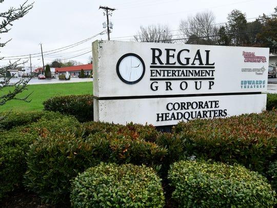 Regal Entertainment Group headquarters at Regal Ln