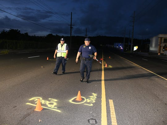 Guam Police Department Highway Patrol Division officers