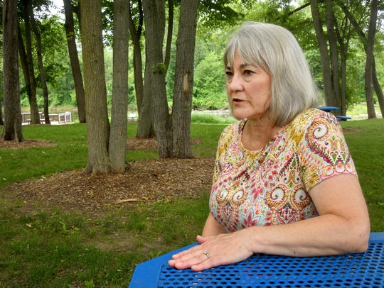 Former Dimondale Village Manager Denise Parisian talks