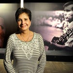 Nancy Jones is anxious to open the George Jones Museum on Second Ave which she promised her late husband that she would. Thursday April 2, 2015, in Nashville, Tenn.