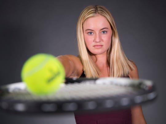Hailey Stelse and the Desert Mountain High School girls tennis team is a finalist for the azcentral Sports Awards Team of the Year award.