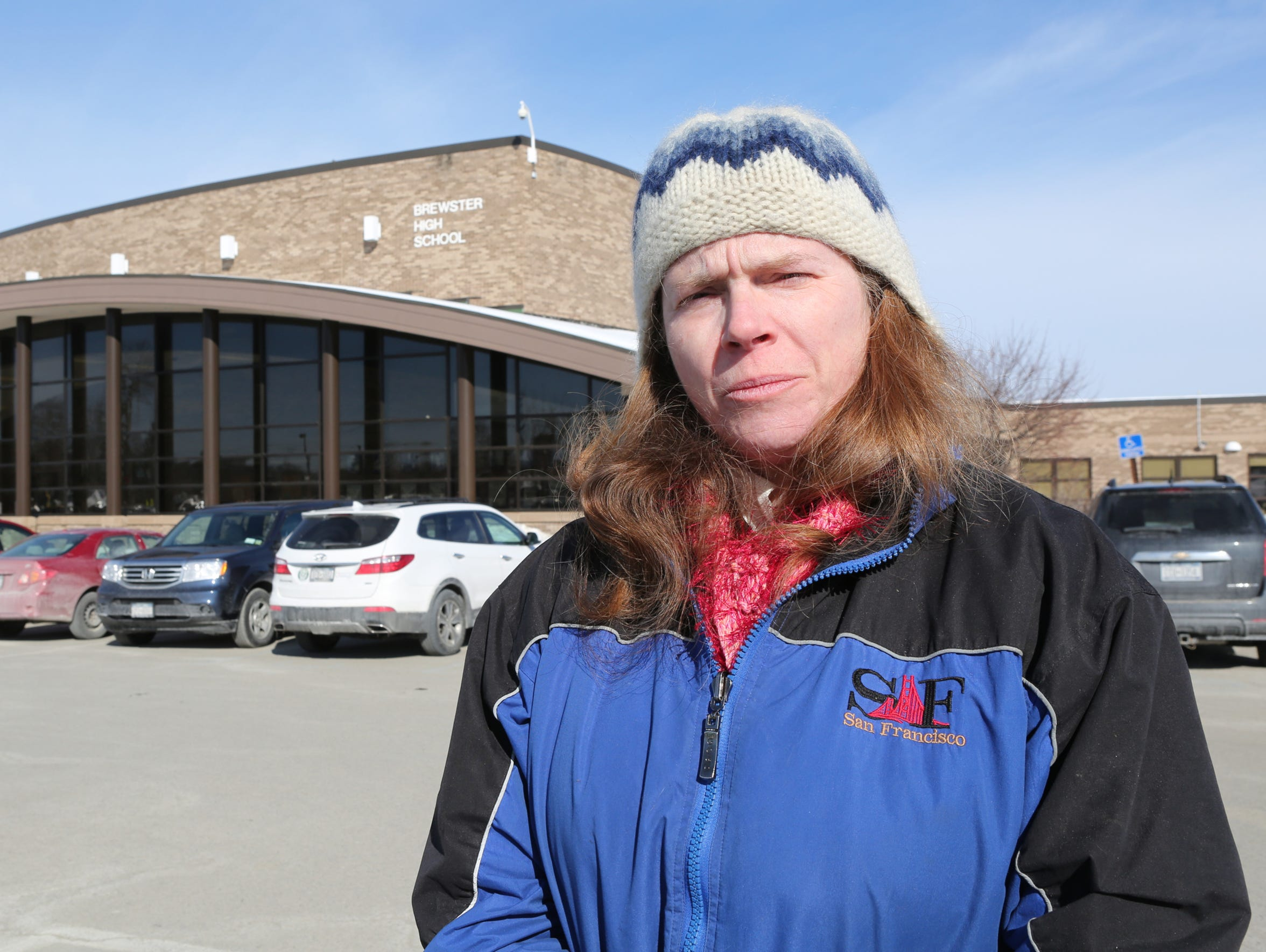 Christine Zirkelbach is a parent in the Brewster school
